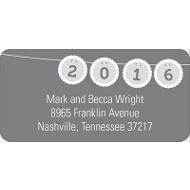 Banner Bursts Creative Address Labels