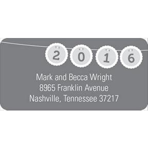 Banner Bursts -- Creative Address Labels