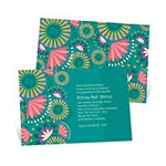 Hawaiian Celebration -- Luau Graduation Invitations