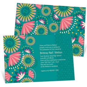 Hawaiian Celebration -- Graduation Announcements