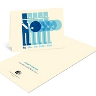 Visions of Drummer Boys Business Holiday Cards