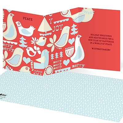 Vintage Collectibles Business Holiday Cards