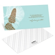 Perfect Pine Cones Business Holiday Cards