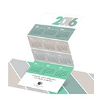 Trifold Calendar -- Corporate Holiday Greeting Cards