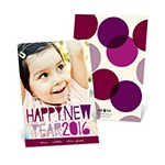Whimsical Greetings -- New Years Cards