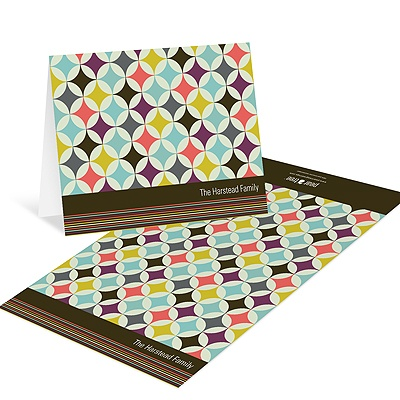 Diamond Delight -- Retro Thank You Cards