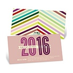 Chic Chevron -- New Years Eve Invites