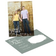 Say it Sweetly Save the Date Photo Postcards