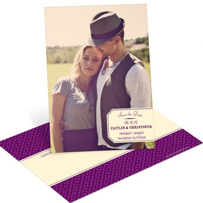 Mark That Date Vertical Save the Date Postcards