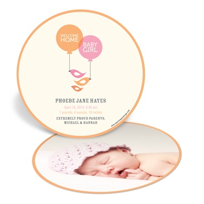 Up Up and Away Birth Announcements