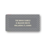 Delicate Dots -- Baby Return Address Labels