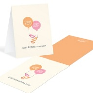 Up Up And Away Baby Thank You Cards