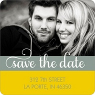 Say it Sweetly Save the Date Return Address Labels