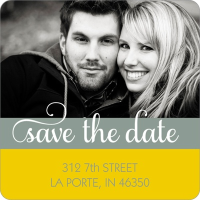 Say it Sweetly -- Save the Date Return Address Labels