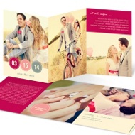 Love Letter Photo Save the Date Cards