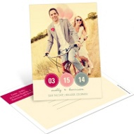 Circle the Date Vertical Photo Save the Date Postcards