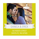 Blissful Banner -- Personalized Photo Address Labels