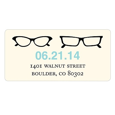 Frame the Date -- Save the Date Address Labels