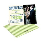 Cheerful Calendar -- Save the Date Calendar Cards