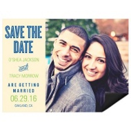 She Said Yes Save the Date Magnets