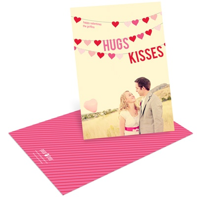 Sweetly Strung Photo Valentine Cards