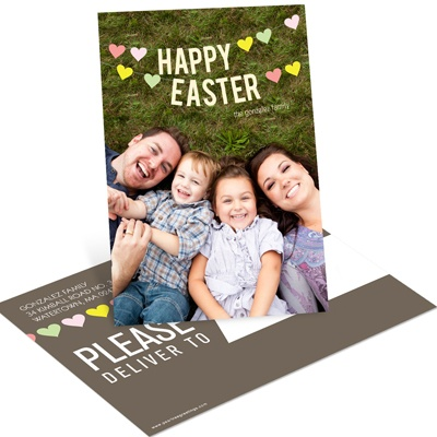Heart Strung Easter Postcards