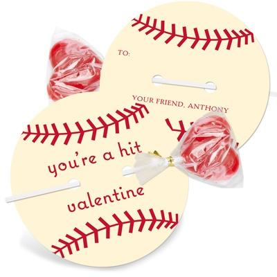Kids Valentine Cards -- It's a Homerun