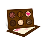 Cheerful Chocolates -- Valentine's Day Cards for Kids