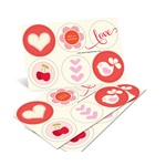 Vintage Icons -- Valentine Stickers