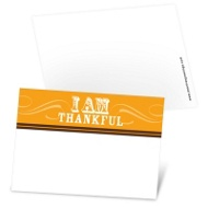 Thanksgiving Flourish Mini Note Cards