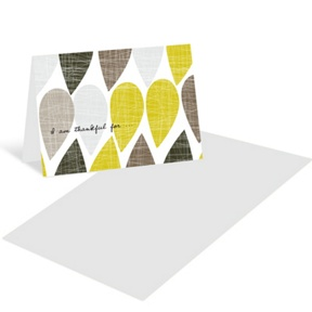 Textured Drops -- Mini Note Cards