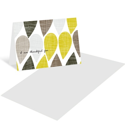 Textured Drops Mini Note Cards
