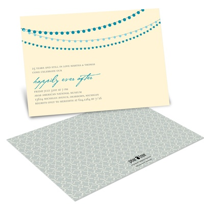 Lovely Lanterns  Modern Party Invitations