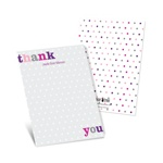 Dotted to Perfection -- Polka Dot Thank You Notes