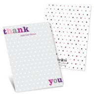 Dotted to Perfection Baby Thank You Cards
