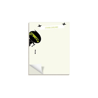 Sneaky Ninjas Custom Notepads