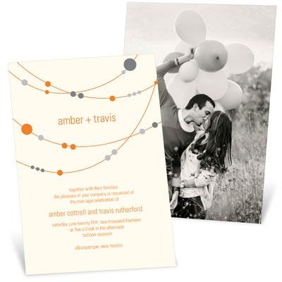 Swanky Strands Wedding Invitations