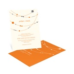 Swanky Strands -- Wedding Party Invitations