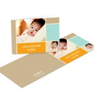 Sweet Squares Kids Photo Thank You Cards