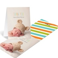 Trendy Thank You Baby Thank You Cards