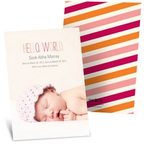 Sweet Debut -- Adoption Announcements