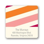 Sweetly Striped -- Trendy Address Labels