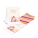 Trendy Greeting -- Baby Photo Thank You Cards