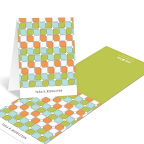 Tiled Pattern -- Creative Thank You Notes