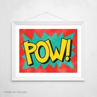 Calling All Superheroes -- Wall Art