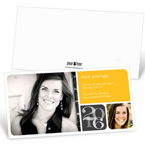 Blocked Year -- Graduation Announcements