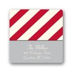 Mesmerizing Stripes -- Custom Family Address Labels