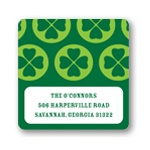 Lucky Clovers -- Irish Address Labels