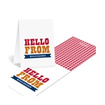 Giddy with Gingham -- Personalized Thank You Note Cards