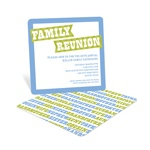 Family Rules -- Family Reunion Invitations